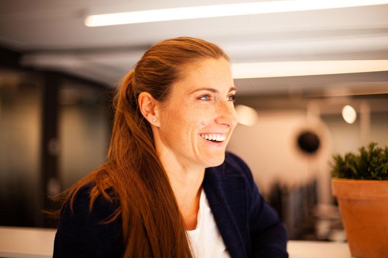 Erica Eriksson - Affärsområdeschef Säkerhetsskydd hos SRI