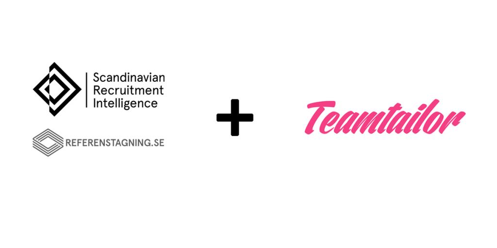 Teamtailor och SRI samarbetar kring bakgrundskontroller och digital referenstagning