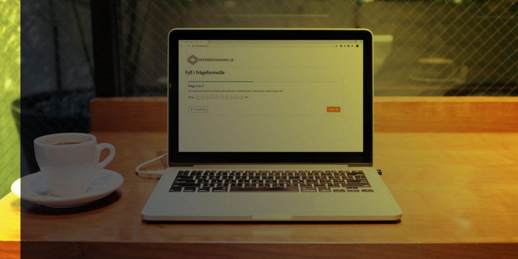 Digital referenstagning i SRI-portalen