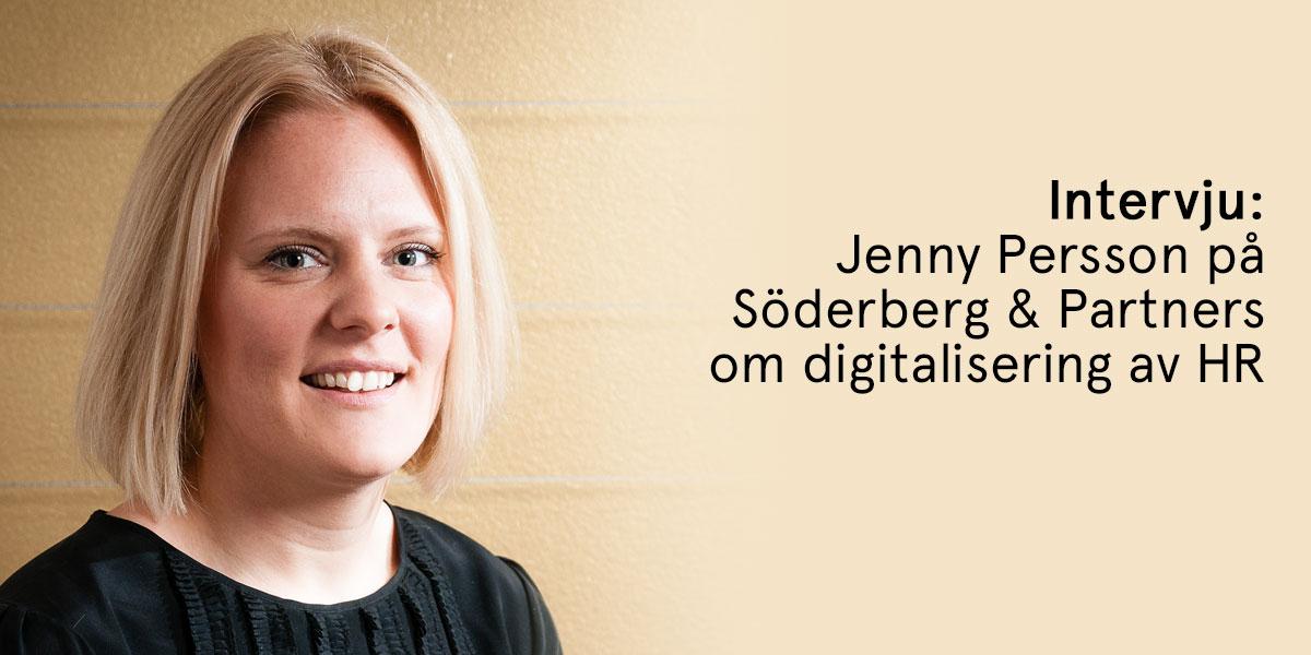 """Digitalisering av HR på Söderberg & Partners: """"Självklart har digitaliseringen även resulterat i en säkrare vardag."""""""
