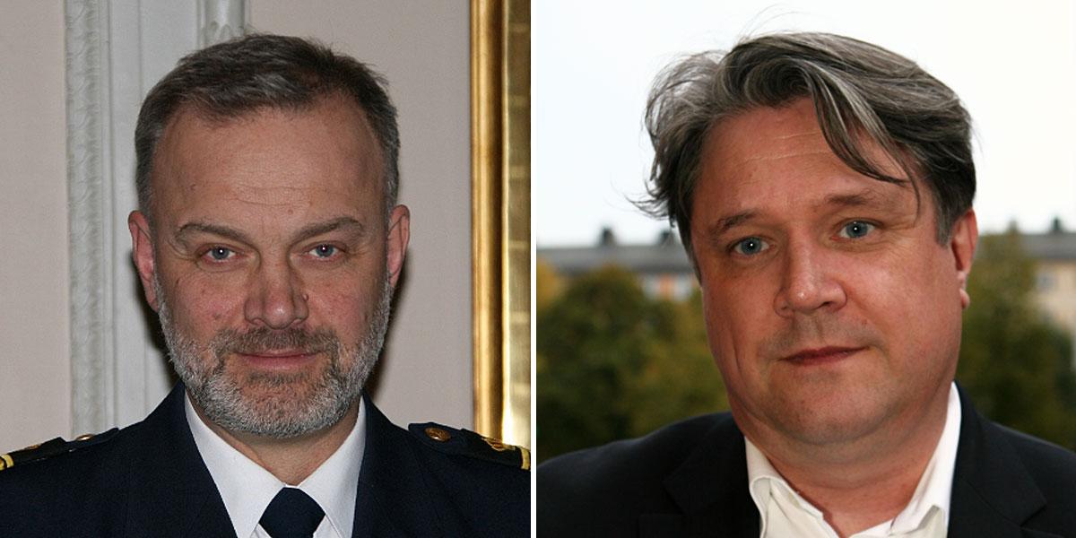 Sveriges ledande terror- och säkerhetsexperter Jörgen Holmlund och Hans Brun till SRI