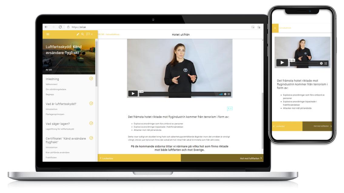 Digitala säkerhetsutbildningar från SRI